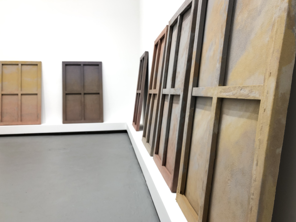 Lisha Bai installation: Year Without a Summer exhibition at Klaus von Nichtssagend gallery